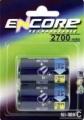 Encore Baby Converter 2700 mAh NiMH 2er Blister