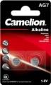 Camelion Alkaline Knopfzelle AG7/ LR57 2er Blister