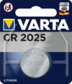 Varta Lithium CR 2025 / 6025 1er Blister