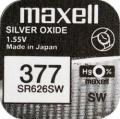 Maxell Uhrenbatterie 377 / SR626SW