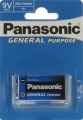 Panasonic General Purpose 9V Block 6F22X 1er Blister