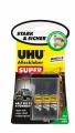 UHU Alleskleber Super Strong & Safe Minis 3x1g Tube Blister