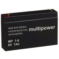 6V / 7 Ah Multipower Blei Akku