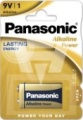 Panasonic Alkaline Power 9 Volt Block 6LF22X 1er Blister