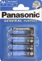 Panasonic General Purpose Mignon R6X 4er Blister