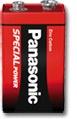 Panasonic 9V 6F22R 1er Blister
