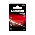 Camelion Alkaline Knopfzelle AG4/ LR66 2er Blister